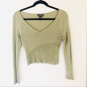 Banana republic grunge cropped top 90's vintage